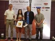 Joven vietnamita gana primer premio en Competencia internacional de Guitarra Asiática en Bangkok