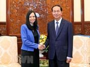 Presidente de Vietnam propone ampliar lazos con Polonia en sectores potenciales
