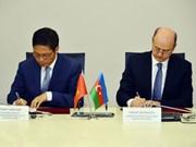 Vietnam y Azerbaiyán intensificarán cooperación en sectores de energía y petróleo