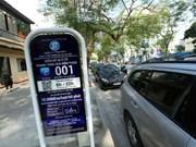 Hanoi extiende uso de estacionamientos inteligentes