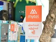 Operación impresionante de marca Mytel de Viettel en Myanmar