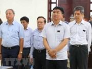 Confirman sentencia contra Dinh La Thang en caso de OceanBank