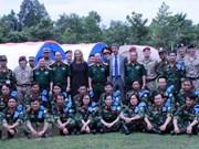 ONU selecciona Vietnam como sitio de entrenamiento para fuerzas de paz