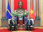Vietnam dispuesto a compartir experiencias con Nauru en acuicultura, afirma presidente