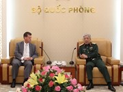 Vietnam y Estados Unidos fortalecen cooperación en defensa