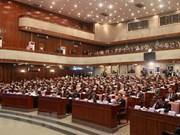 Asamblea Nacional de Laos adopta cinco nuevas leyes