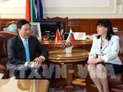 Vicepremier de Vietnam continúa agenda en Bulgaria