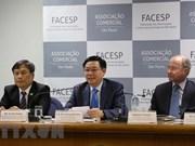 Vienam y Brasil promueven nexos comerciales