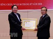 Dirigentes laosianos aprecian experiencias vietnamitas en gestión de funcionarios