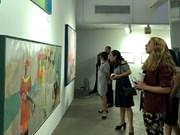 Exponen en Vietnam 25 obras de artistas nacionales y sudcoreanas