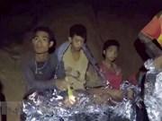 Australia participa en el rescate del equipo infantil de fútbol en Tailandia