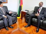 Mozambique aspira a recibir más inversiones de Vietnam