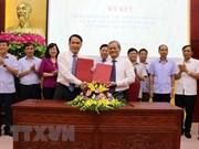 VNA y Bac Ninh colaboren en la promoción de su imagen