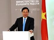 Continúa viceprimer ministro Pham Binh Minh su visita en Rumania