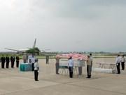 Repatriación de restos de soldados estadounidenses caídos durante guerra en Vietnam