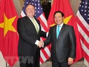 Vietnam y Estados Unidos acuerdan consolidar asociación integral bilateral