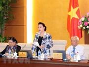 Comité Permanente del Parlamento vietnamita analiza tres proyectos de leyes