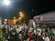 Emprenden en provincia vietnamita procedimiento contra provocadores de desorden social