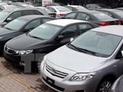 Productores de coches en Tailandia instan a mantener impuesto a vehículos importados