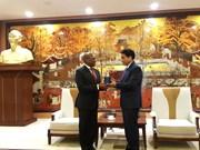 Hanoi y Sudáfrica fortalecen vínculos