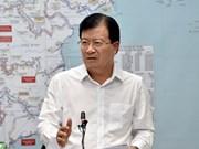 Vicepremier vietnamita insta a adoptar medidas integrales en respuesta a desastres naturales