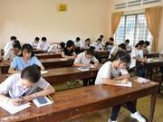 Inician procedimiento legal por irregularidades en examen de bachillerato en provincia vietnamita de Ha Giang