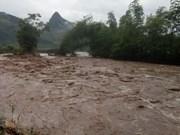 Reportan dos fallecidos por inundaciones en provincia vietnamita de Thanh Hoa
