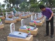 Provincia de Vietnam celebra réquiem por combatientes caídos en Quang Tri