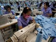 Crecen 15 por ciento exportaciones de confecciones textiles de Vietnam