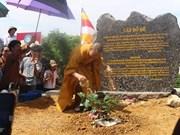 Siembran en Vietnam árbol Bodhi, planta bajo la cual nació el budismo, según leyenda