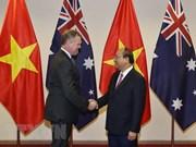 Premier de Vietnam propone a Australia reforzar nexos en diversos sectores