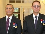 Australia honra a nueve ciudadanos que participaron en rescate de niños en Tailandia