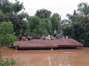 No reportan víctimas vietnamitas en colapso de presa en Laos