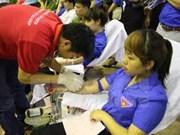 Jóvenes voluntarios de Vietnam y de otros siete países participarán en campamento de la Cruz Roja