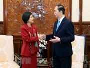 Presidente de Vietnam reitera el deseo de fomentar nexos con Canadá