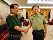 Dirigentes de Vietnam y China respaldan cooperación en defensa