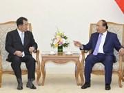 Premier de Vietnam recibe a parlamentarios de amistad Japón-Mekong