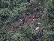 Recuperan cadáveres de pilotos en accidente de avión militar en Vietnam