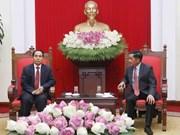 Impulsan cooperación entre Comisiones centrales de Inspección de Vietnam y Laos