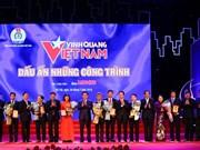 Honran en Vietnam obras sobresalientes en proceso de construcción del país