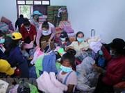 Gobierno, organizaciones y entidades vietnamitas apoyan con donaciones a víctimas del colapso de presa en Laos