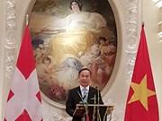 Resaltan avance incesante de lazos multifacéticos Vietnam- Suiza