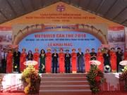 Inauguran Feria Internacional de Construcción en ciudad vietnamita de Can Tho