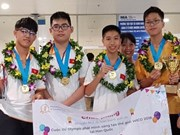 Estudiantes vietnamitas ganan oros en Olimpiada Mundial de Creatividad e Invención