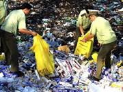 Provincia de Vietnam decomisa línea de embalaje de pilas piratas