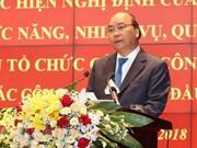 Premier de Vietnam pide a la policía fortalecer ética de funcionarios