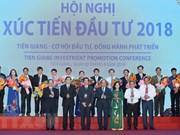 Premier vietnamita asiste a conferencia de promoción inversionista en Tien Giang