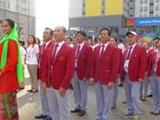 Vietnam celebra acto de izamiento de bandera en Juegos Asiáticos en Indonesia