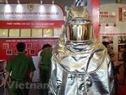 Celebran en Vietnam exposición internacional sobre extinción de incendios