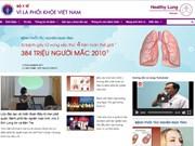 """Presentan en Vietnam página web """"Por un pulmón sano"""""""